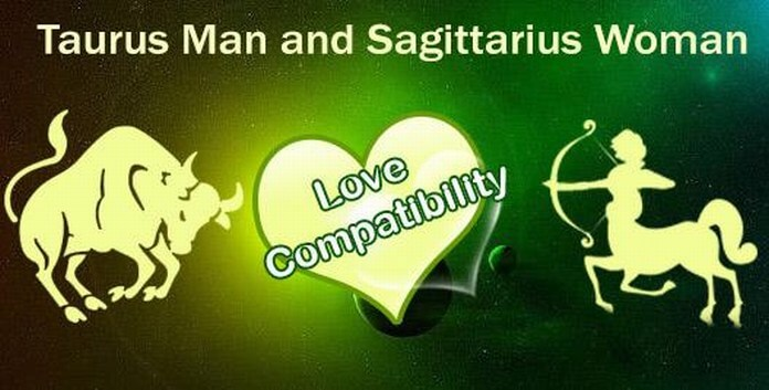 Taurus female dating sagittarius male