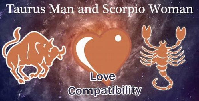 Taurus Man and Scorpio Woman Love Compatibility
