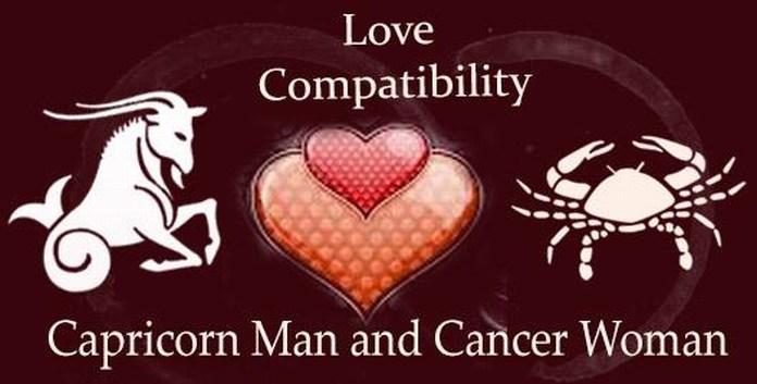 Capricorn dating cancer woman