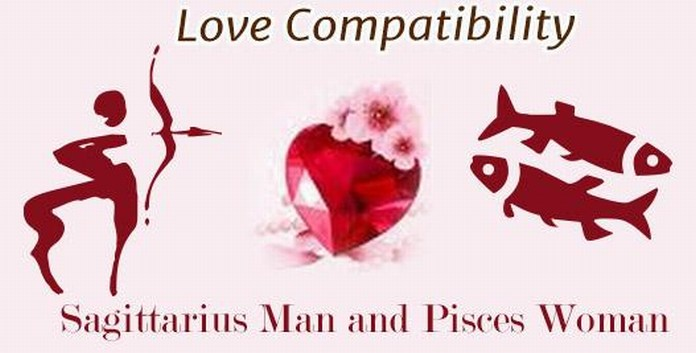 Sagittarius Man and Pisces Woman Love match