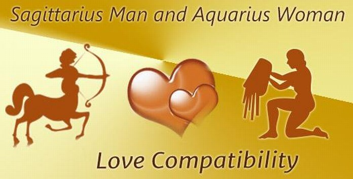 Love Compatibility Sagittarius Man and Aquarius Woman
