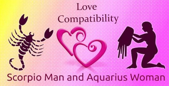 scorpio man dating an aquarius woman