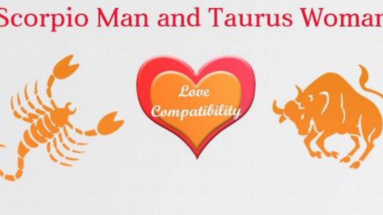 Taurus dating Scorpio man
