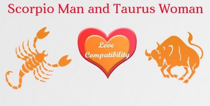 Love Compatibility Scorpio male and Taurus Female