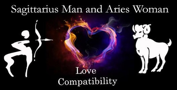 Sagittarius Man and Aries Woman Love Compatibility