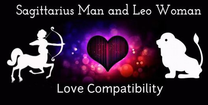 Sagittarius Man and Leo Woman Love Compatibility