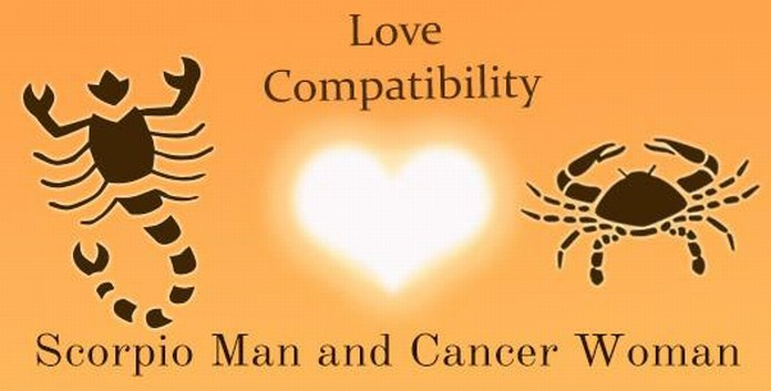 Love Compatibility Scorpio male and Cancer Female