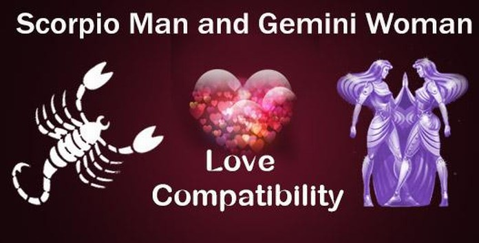 Scorpio Man and Gemini Woman Love Compatibility