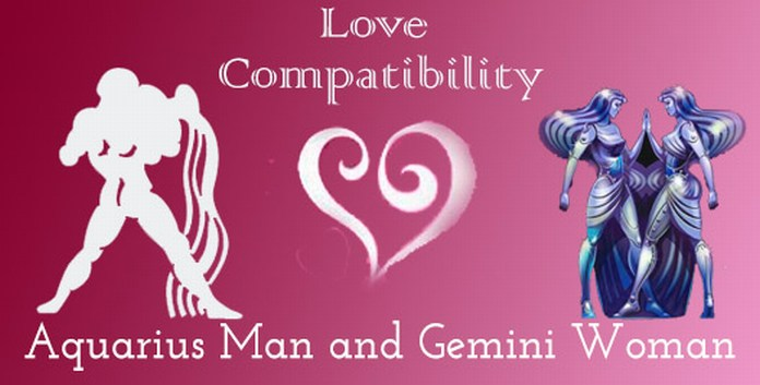 Aquarius Man and Gemini Woman Love Compatibility