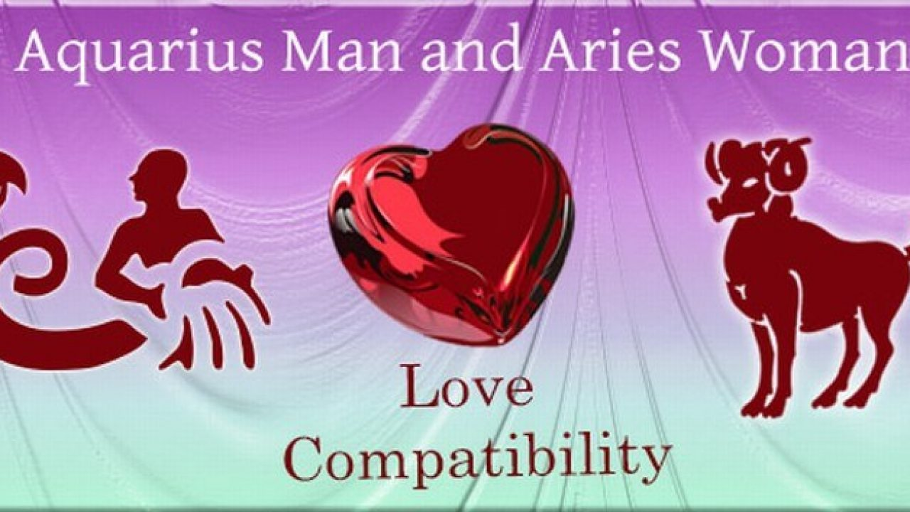 Aquarius Man and Aries Woman Love Compatibility