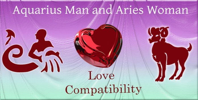 Love Compatibility Aquarius Man and Aries Woman