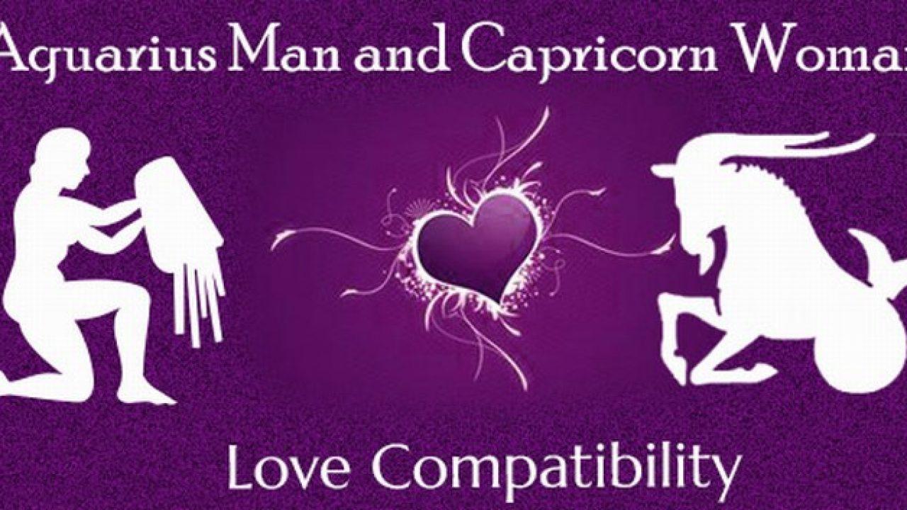 Capricorn man and aquarius woman