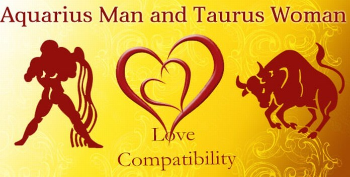 Aquarius Man and Taurus Woman Love Compatibility