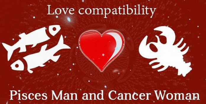 Pisces Male and Cancer Female Love Compatibility