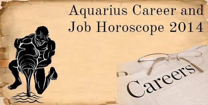 Aquarius Career and Job Horoscope 2014