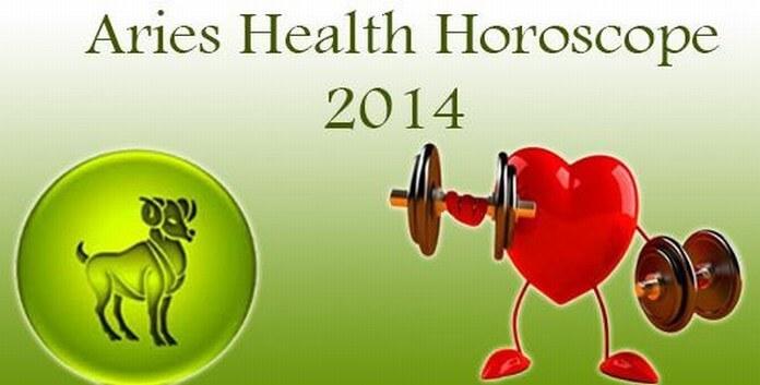 Aries Health Horoscope 2014