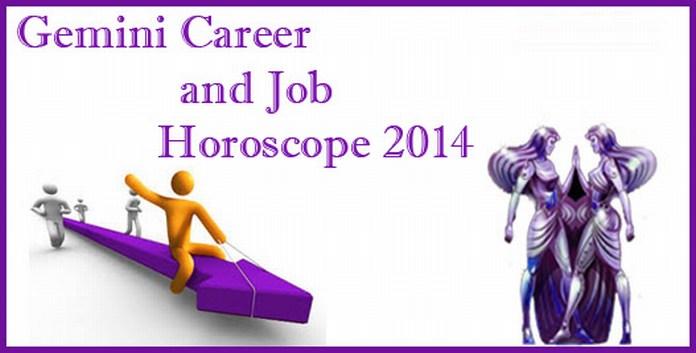 Gemini 2014 Career Horoscope