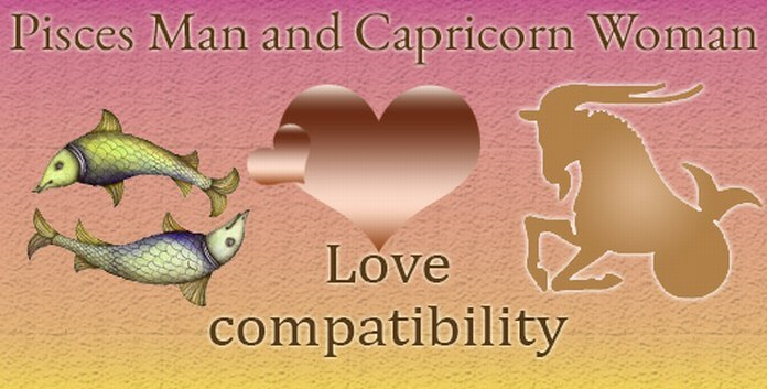 Pisces Man and Capricorn Woman Love Compatibility