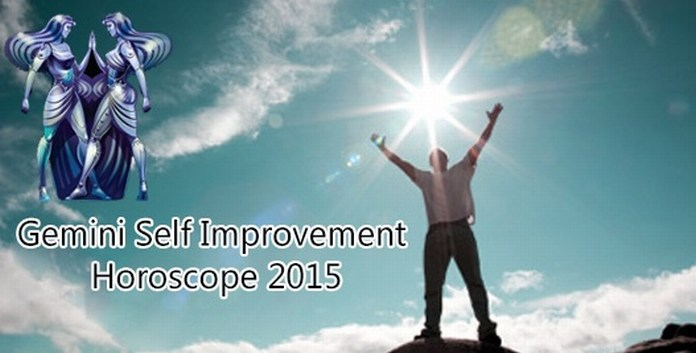 Gemini Self Improvement Horoscope 2015