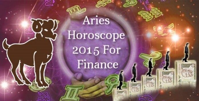 Aries Finance Horoscope 2015