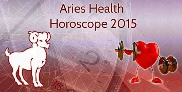 Aries Health Horoscope 2015