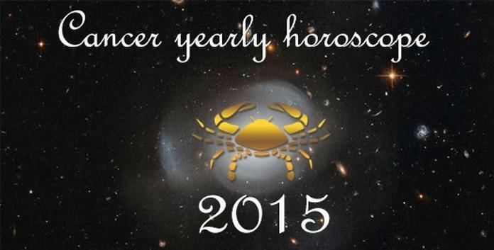 Cancer Yearly Horoscope 2015