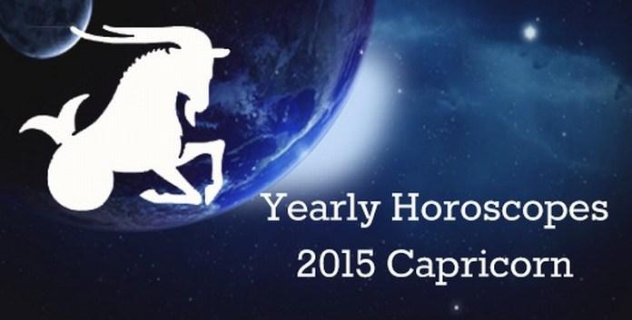 Yearly Capricorn Horoscope 2015