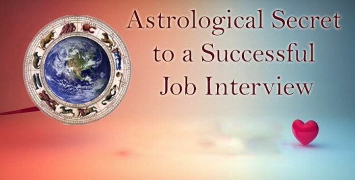 Astrological Advice for Job Interview