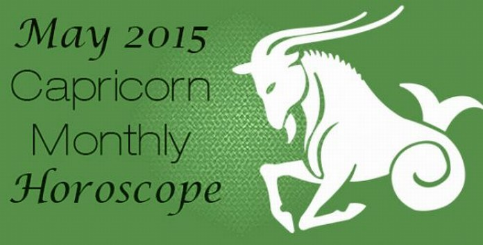 May 2015 Capricorn Monthly Horoscope