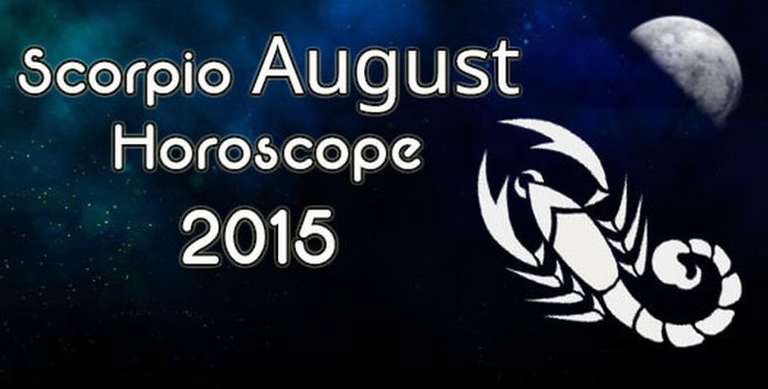 Scorpio Monthly Horoscope August 2015