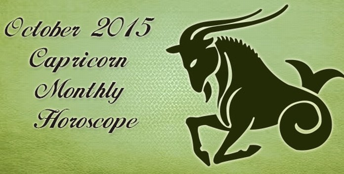 Capricorn October 2015 Horoscope