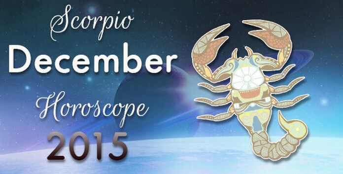 December 2015 Horoscope for Scorpio