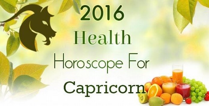 2016 Yearly Health Horoscope For Capricorn