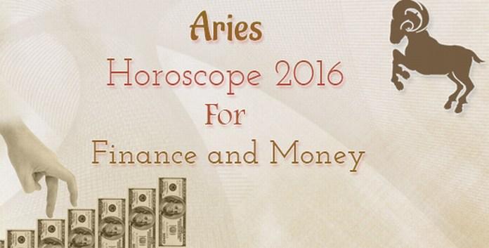 Finance Aries Horoscope 2016