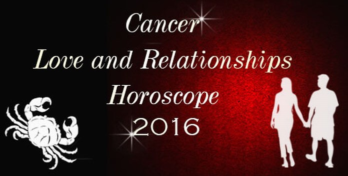 Cancer Love Horoscope 2016