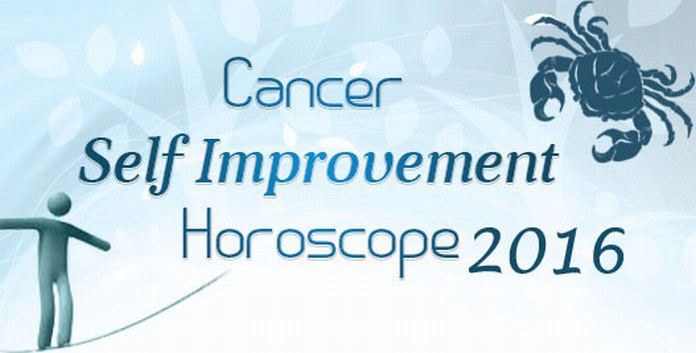 Cancer Self Improvement Horoscope 2016