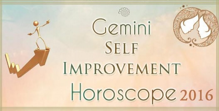 Gemini Self Improvement Horoscope 2016