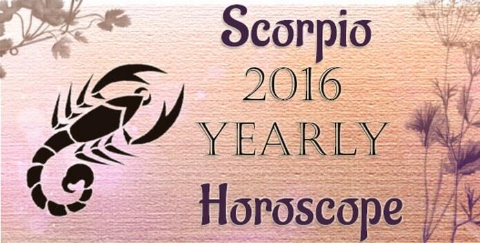 Scorpio 2016 Yearly Horoscope
