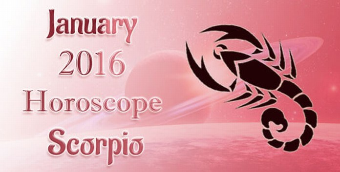 Scorpio Monthly January 2016 Horoscope