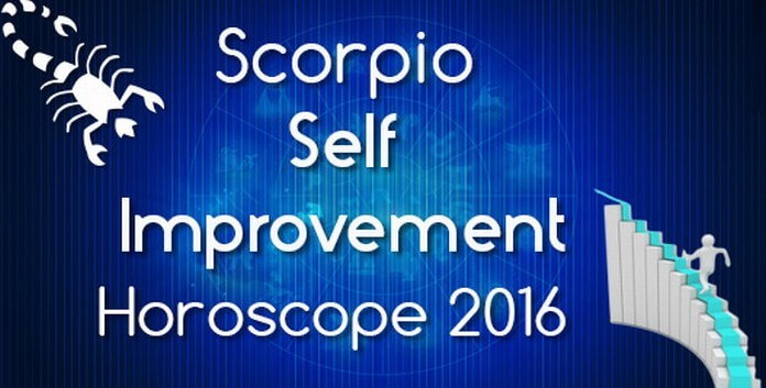 Scorpio Self Improvement Horoscope 2016