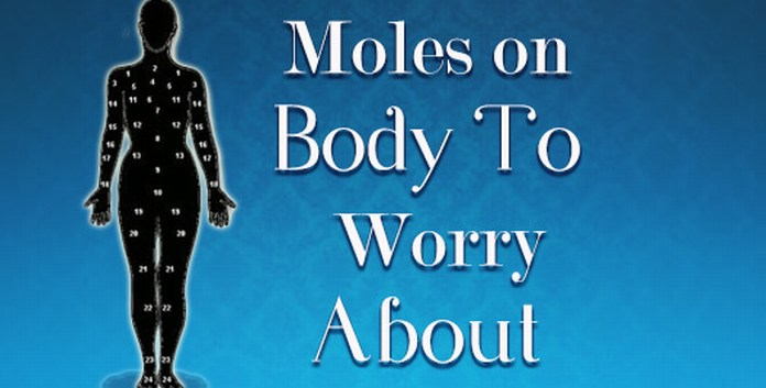 moles on body astrology