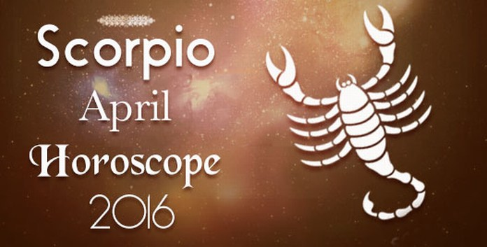 Scorpio Monthly April 2016 Horoscope