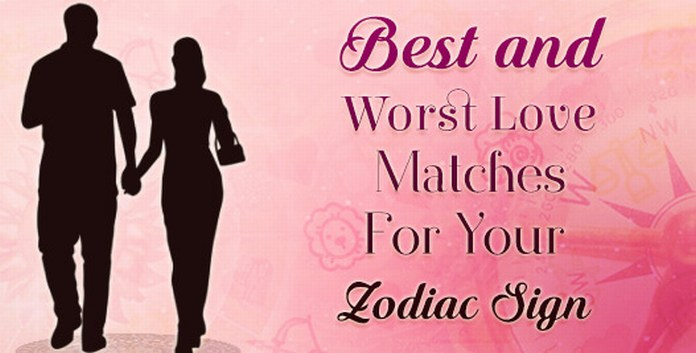 Best and Worst Zodiac Love Matches