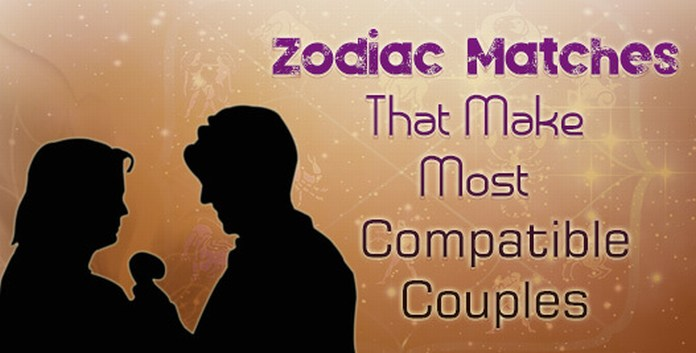 zodiac signs couples Love match
