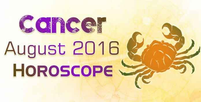 Cancer August Monthly Horoscope 2016