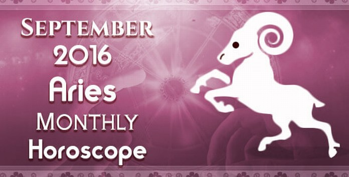 Horoscope Aries September 2016