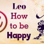 Leo How to be Happy