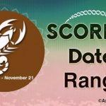 Scorpio Date Range