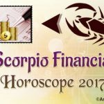 Scorpio Financial Horoscope 2017