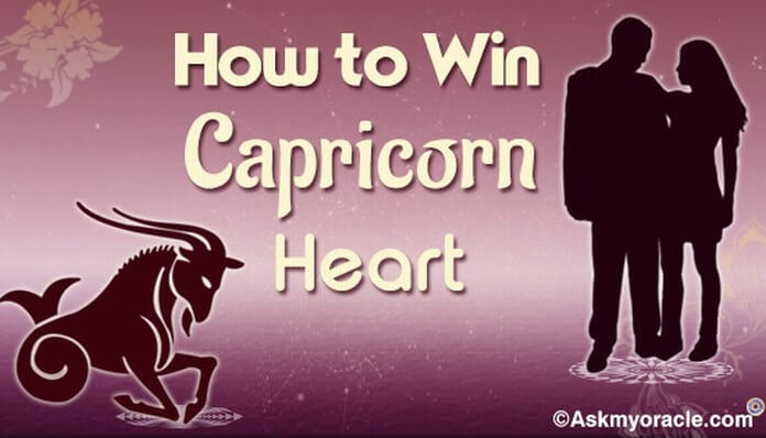 Things That Help You Win a Capricorn Man's Heart